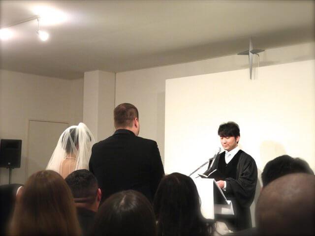 クロスロードチャーチ岡山(キリスト教会)「ウエディング」実際の結婚式の様子写真